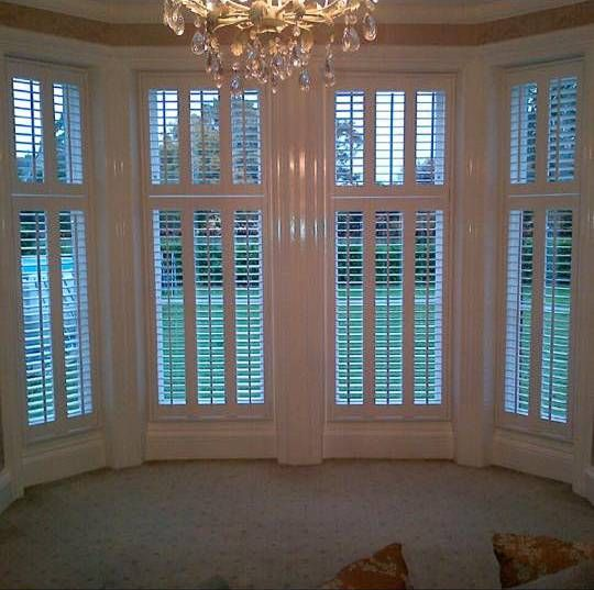 White Shutters for Bay