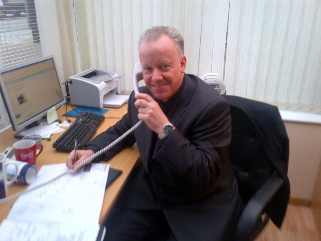 Stewart Rennie - owner of Phoenix Blinds and Shutters